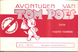 Tom Poes (Bezige Bij / Stripschap) MV 17:: Het geheim van het Noorderlicht