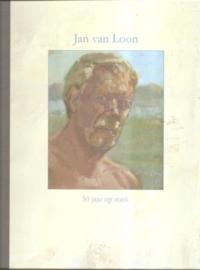 """Loon, Jan van; """"50 Jaar op zoek"""". (gesigneerd door de kunstenaar)"""
