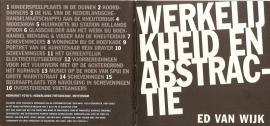 """Wijk, Ed van: """"Werkelijkheid en abstractie""""."""