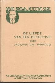 """Workum, Jacques van: """"De liefde van een detective""""."""