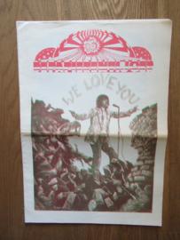 Witte Krant / Papieren Tijger 7 (cover met rood)