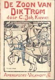 """Kieviet, C. Joh. """"De zoon van Dik trom""""."""
