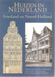 """meischke, R. (e.a.) redactie: """"Huizen in Nederland. Friesland en Noord-Holland""""."""