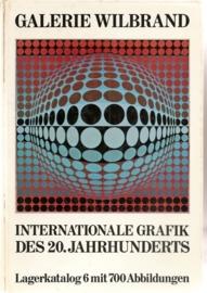 """Galerie Wilbrand: """"Internationale Grafik des 20. Jahrhunderts""""."""