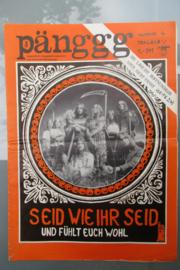 Pänggg: Underground Alternativ Zeitschrift; nummer 4