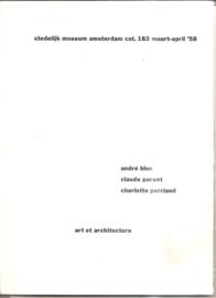 Catalogus Stedelijk Museum 183: Art et architecture