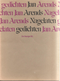 Arends, Jan: Nagelaten gedichten