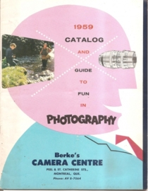 Catalog and Guide to fun in Photography 1959