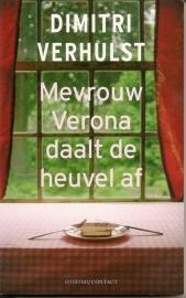 """Verhulst, Dimitri: """"Mevrouw Verona daalt de heuvel af""""."""