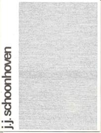 """Catalogus Stedelijk Museum 515: """"Jan Schoonhoven"""""""