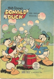 Donald Duck 1954 no. 32