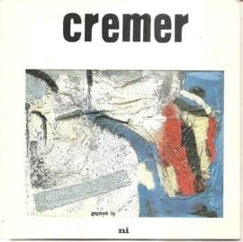 """Cremer, Jan: """"Jan Cremer als schilder"""" (gesigneerd)"""
