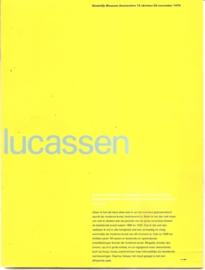 Catalogus Stedelijk Museum 658: Lucassen