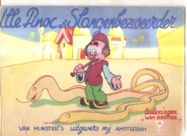 Knottner, Wim (tekeningen): Ille Pinoc als slangenbezweerder