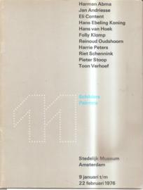 Catalogus Stedelijk Museum 591: 11 Schilders