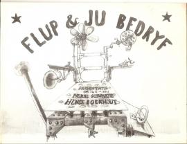 Catalogus Stedelijk Museum 544: Flup & Ju Bedryf.
