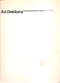 Dekkers, Ad: catalogus Haags Gemeentemuseum
