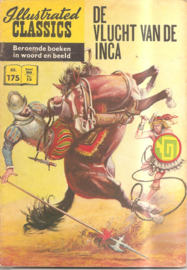 Illustrated Classics 175: De vlucht van de Inca's