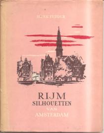 Fedder, henk: Rijmsilhouetten van Amsterdam