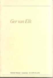 Catalogus Stedelijk Museum 569: Ger van Elk