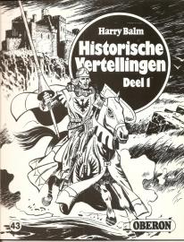 """Oberon Zwartwit Reeks 43: """"Historische vertellingen deel 1""""."""