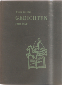 Moens, Wies: Gedichten 1918-1967 (gesigneerd)