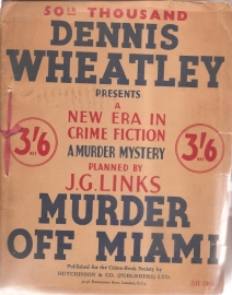 "Wheatley, Dennis: ""Murder off Miami""."