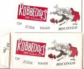 Robbedoes op zoek naar Bocongo.