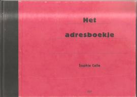 Calle, Sophie: Het adresboekje