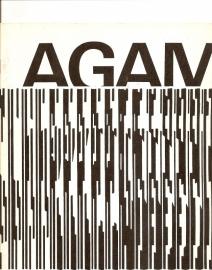 Catalogus Stedelijk Museum 538: Agam. (gereserveerd)