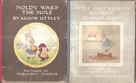 Uttley, Alison: ' Moldy Warp the Mole' en  'Little Grey Rabbit's Birthday'.
