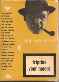 """Gent, Jan van: """"Triptiek voor Moord""""."""