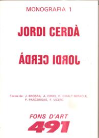 Cerda, Jordi: Monografia 1
