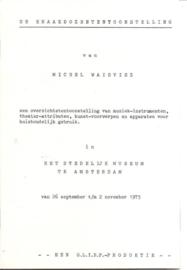 Catalogus Stedelijk Museum 585: Kraakdozententoonstelling