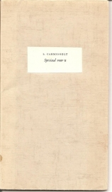 """Speciaal voor U 1960 (""""Rotterdamsch Parool"""")"""