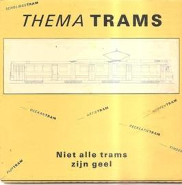 Thema Trams: Niet alle trams zijn geel (kan nog niet besteld worden)