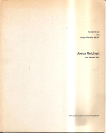 """Reichert, Josua:  Sonderdruck aus """"Junge Künstler"""" (gesigneerd, met opdracht)"""