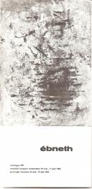 "Catalogus Stedelijk Museum 307: ""Ebneth""."