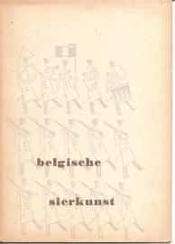 Catalogus Stedelijk Museum, zonder nummer: Belgische sierkunst.