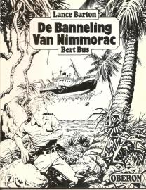 """Oberon Zwartwit Reeks 07: """"De Banneling van Nimmorac""""."""