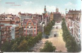 Amsterdam - N.Z. Voorburgwal (1915)