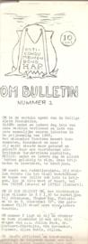 OM Bulletin nummer 1