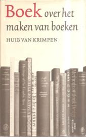 Krimpen, Huib van: Boek over het maken van boeken.