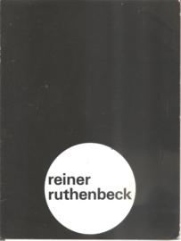 "Catalogus Stedelijk Museum 530: ""Reiner Ruthenbeck"""