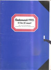 Boekenweek 1993: persinformatie CPNB
