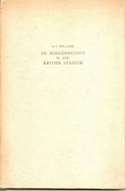 """Willink, A.C.: """"De schilderkunst in een kritiek stadium""""."""