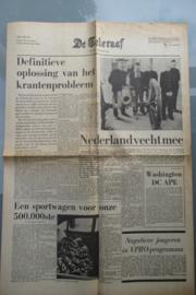 Teleraaf, de: Definitieve oplossing van het krantenprobleem