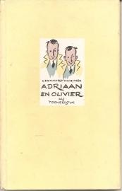 """Huizinga, Leonard: """"Adriaan en Olivier als tooneelstuk""""."""