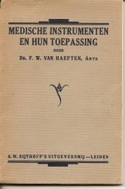 """Haeften, dr. F.W.: """"Medische instrumenten en hun toepassing"""""""