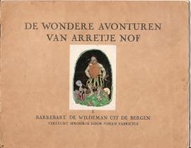 Arretje Nof  deel I (Serie Johan Fabricius)